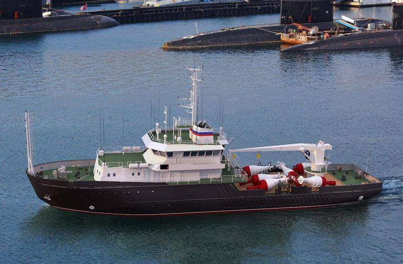 В Рыбинске заложили очередное малое гидрографическое судно проекта 19910