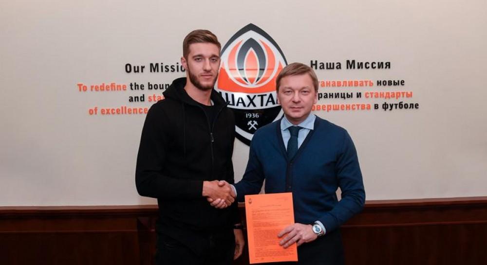 Валерий Бондаренко стал игроком донецкого Шахтера