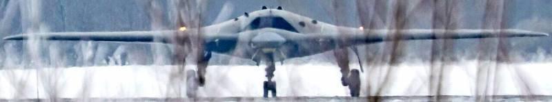 Тяжелый российский беспилотник «Охотник» впервые попал в кадр