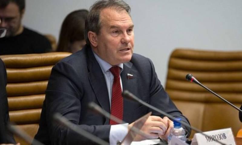 Сенатор Морозов согласился поехать в Киев на дуэль с украинским депутатом