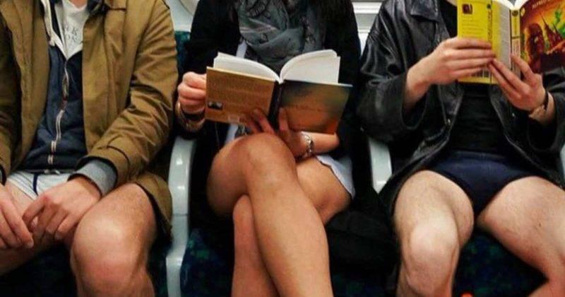 Ежегодный День в метро без штанов пройдет в подземке Лондона в следующее воскресенье
