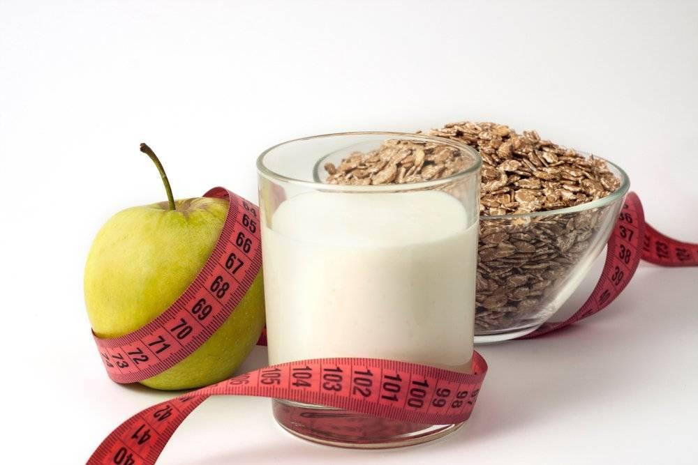 Полосатая кефирная диета похудения
