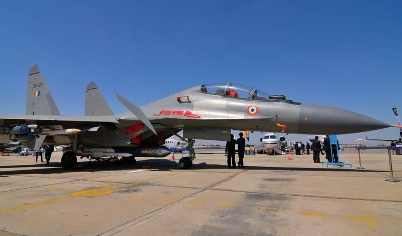 Минобороны Индии заказывает у РФ комплектующие на 18 Су-30МКИ