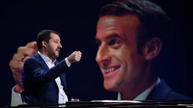 L'Obs: столкновение Макрона и Сальвини — хорошая новость для европейского единства