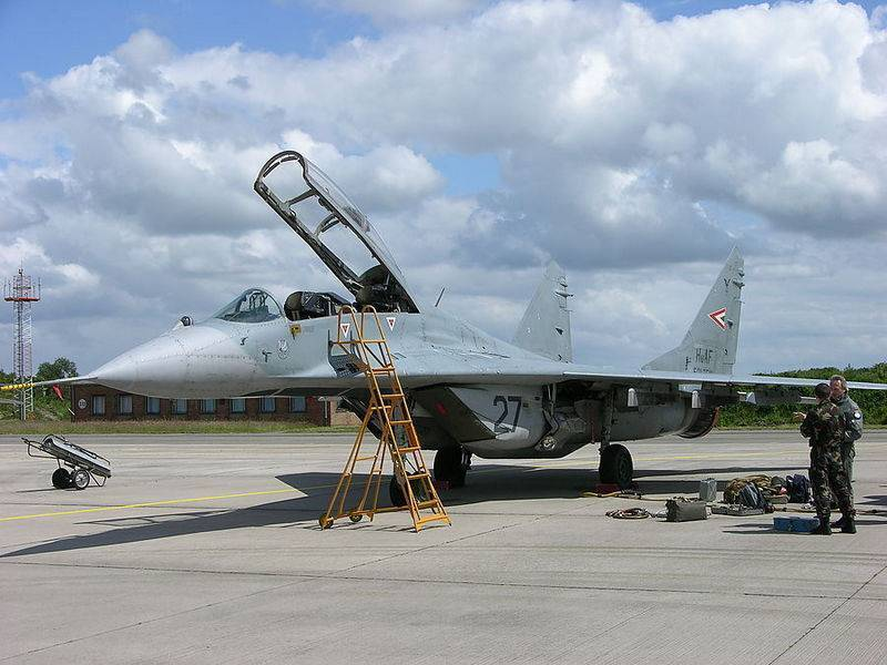 Венгрия выставляет на торги оставшиеся истребители МиГ-29