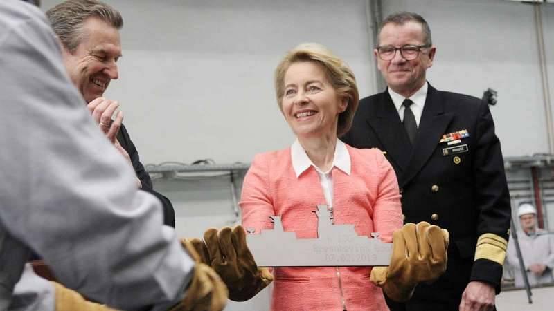 Германия приступила к строительству партии корветов проекта К130