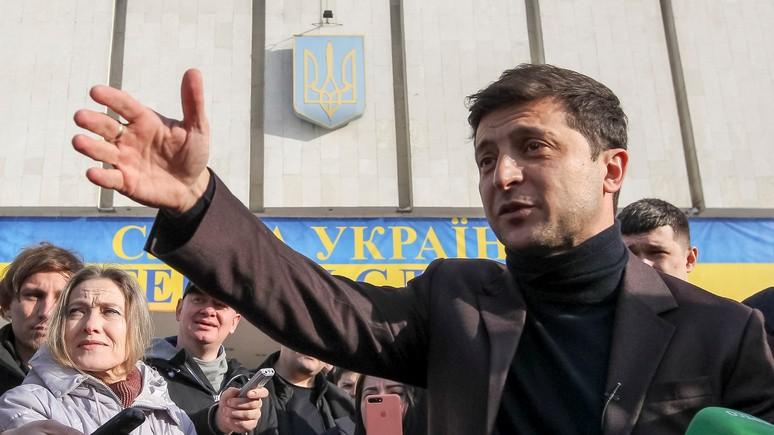 Independent: у «джокера» Зеленского есть все шансы стать президентом Украины