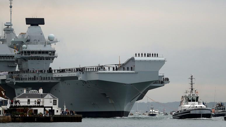 CM: британцы укрепят ВМС техникой «секонд-хенд», чтобы дать отпор Москве и Пекину