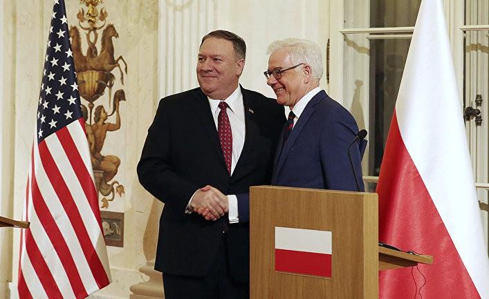Polityka: ближневосточная конференция, или как Польша стала субподрядчиком США