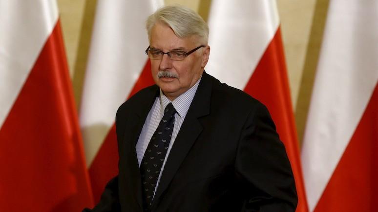 Экс-глава МИД Польши: если мы поможем США, то они нам уделят больше внимания