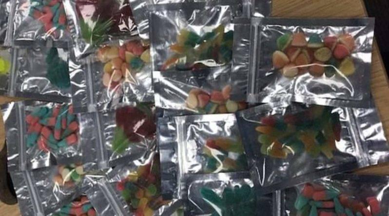 Полиция Кента задержала дилера с большим запасом желейных конфет с марихуаной