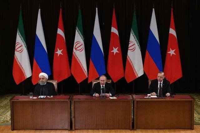 Путин назвал состоявшиеся трехсторонние переговоры по Сирии конструктивными