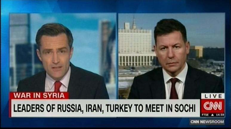 CNN: лидеры России, Турции и Ирана решают будущее Идлиба