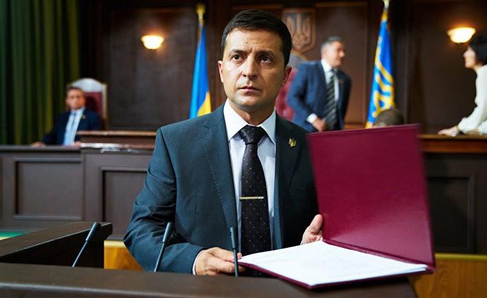 Владимир Зеленский: клоуна в украинские президенты? (Deník N)