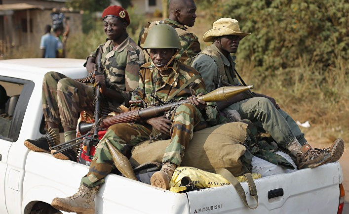Информационная война: как русские притесняют французов в ЦАР? (Jeune Afrique)