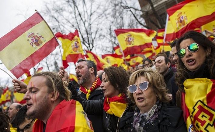 WP: демократия Испании подвергается испытаниям