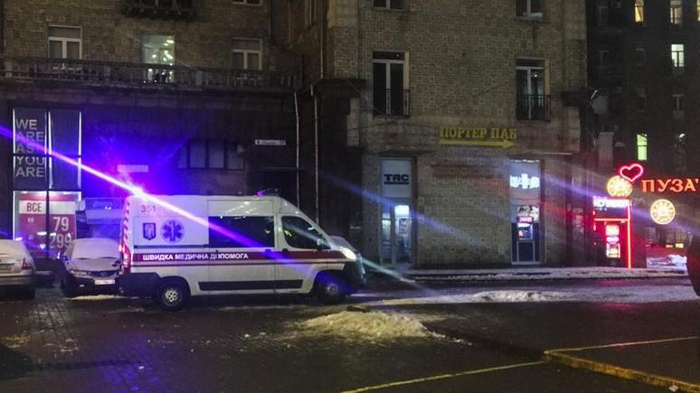 112: украинские ультрас избили немецких болельщиков