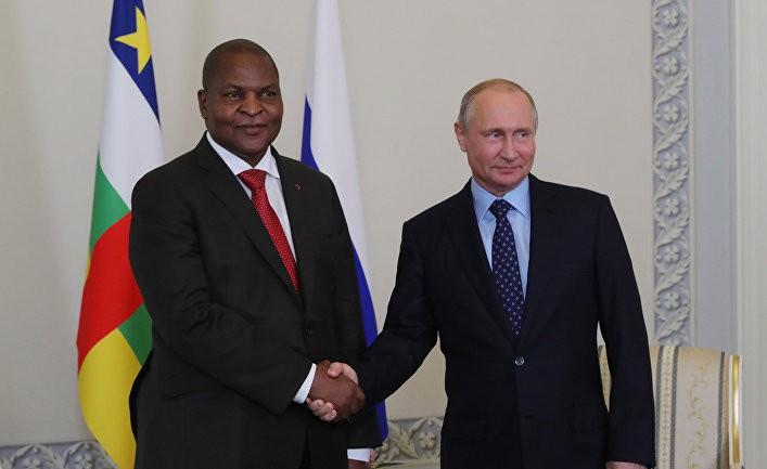 Mondafrique: очередной успех Путина в ЦАР