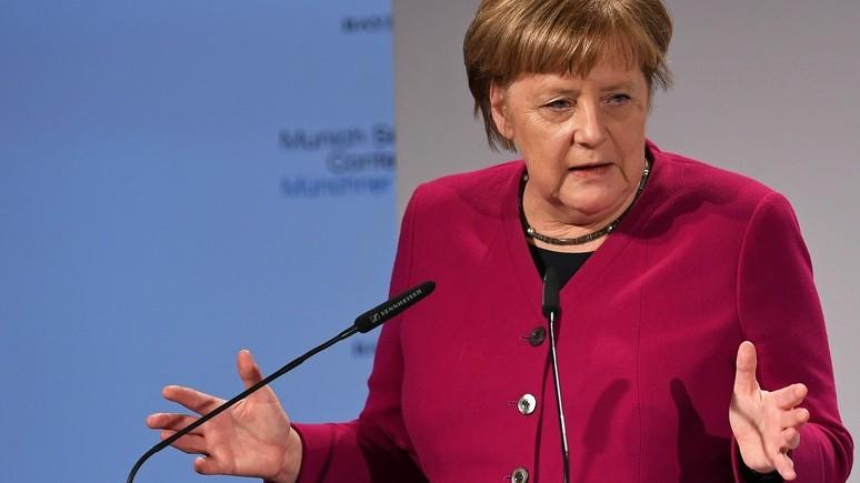 Меркель: разрывать связи с Россией не в  интересах Европы