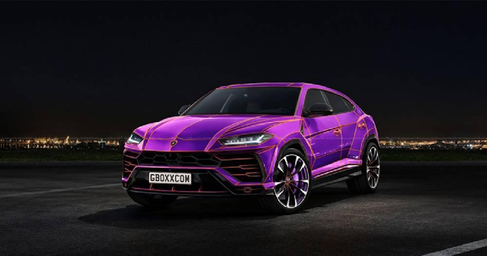 Lamborghini Urus может выйти в розовом или фиолетовом цвете