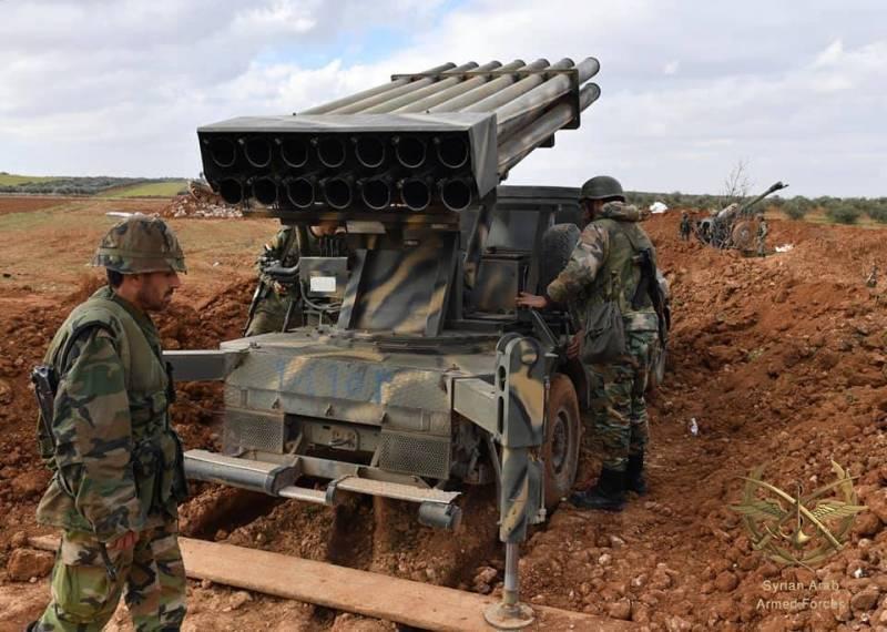 САА пошла в наступление на северо-западе Сирии