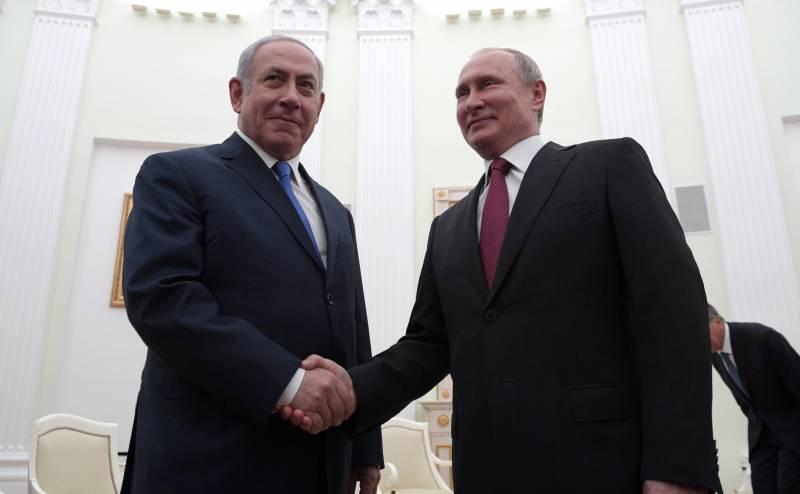 Израильский премьер везёт Путину карту
