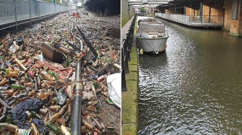 Поразительное преображение: группа волонтеров потратила 3 дня на очистку канала от гор мусора