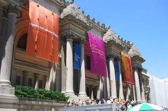 В Метрополитен-музее собрано 2 миллиона произведений искусства