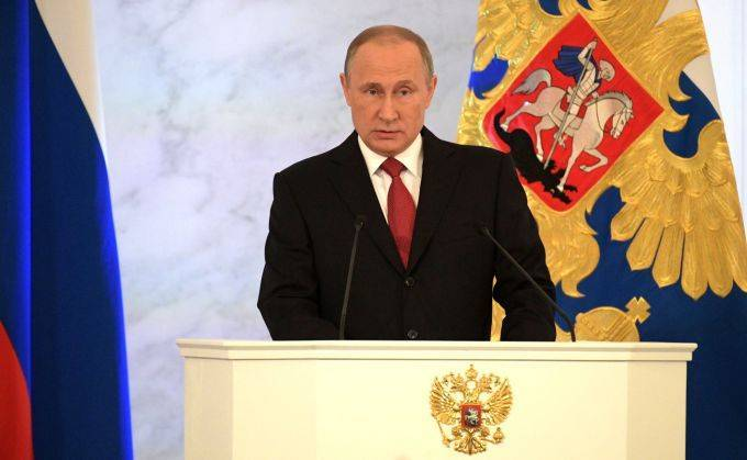 О чём говорил Владимир Путин во время послания к Федеральному собранию