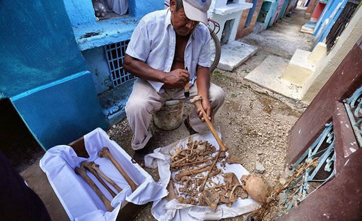 Nature (США): кости майя воскрешают утраченную цивилизацию
