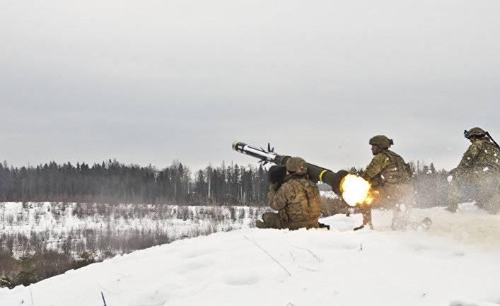 Delfi.lt: в Литву доставили новые ракетные комплексы «Джавелин»