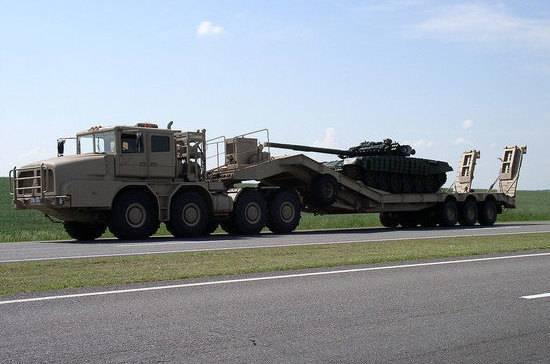 Военные смогут перевозить вооружение без специальных разрешений
