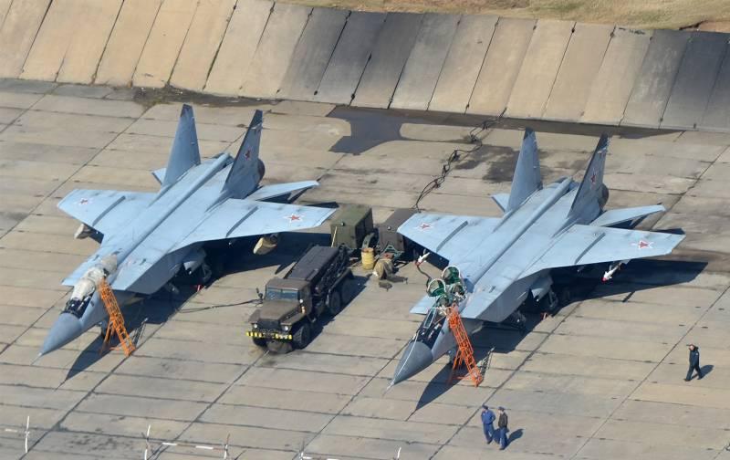 На Камчатке развернут новый авиаполк МиГ-31