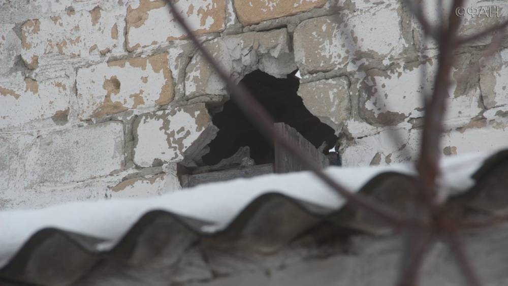 Четыре населенных пункта в ЛНР попали под обстрелы ВСУ