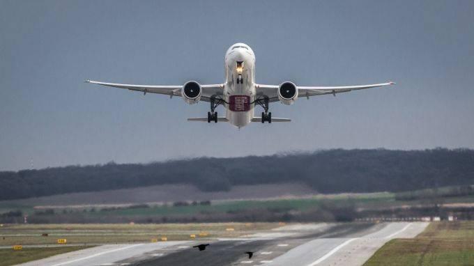 Самолету случайно удалось превысить скорость звука