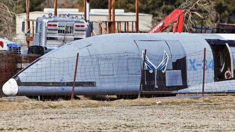 В США на пустыре обнаружены космические беспилотники