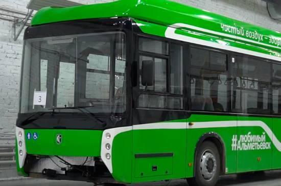 В Уфе испытают автобус нового поколения
