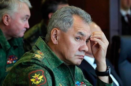 Сергей Шойгу награждён почётной грамотой Госдумы
