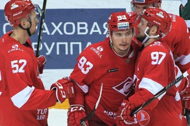 «Спартак» обеспечил себе участие в плей-офф КХЛ, выиграв у «Сочи»