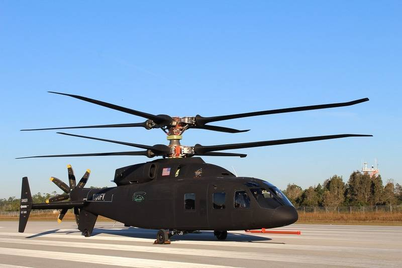 Новейший американский вертолет SB 1 Defiant прошёл очередной этап испытаний: фото и иллюстрации