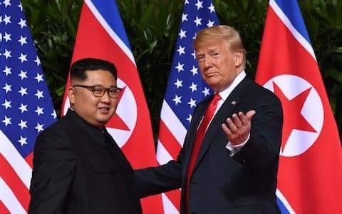 Трамп заявил, что встретится во второй раз с Ким Чем Ыном 27-28 февраля в Ханое: фото и иллюстрации