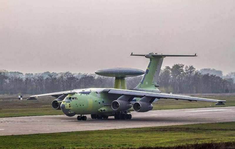 Новейший самолёт ДРЛОиУ А-100 совершил очередной полёт в рамках испытаний: фото и иллюстрации