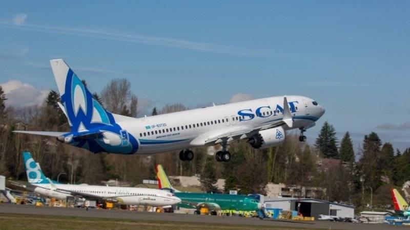 США приостановили полеты Boeing 737 MAX