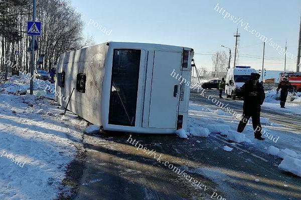10 человек пострадали в ДТП с автобусом пансионата в Подмосковье
