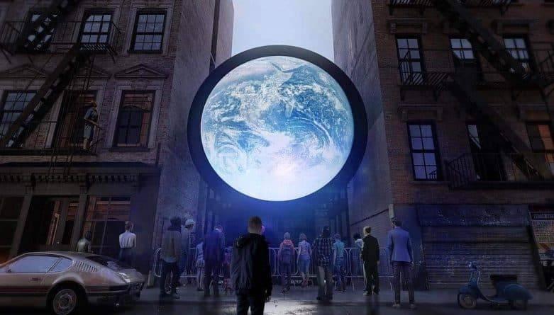 Как в космосе: В Нью-Йорке можно полюбоваться потрясающим видом на Землю