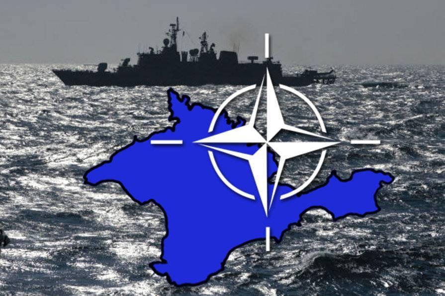 """Захарова: НАТО планировало превратить Крым в свой """"авианосец"""""""