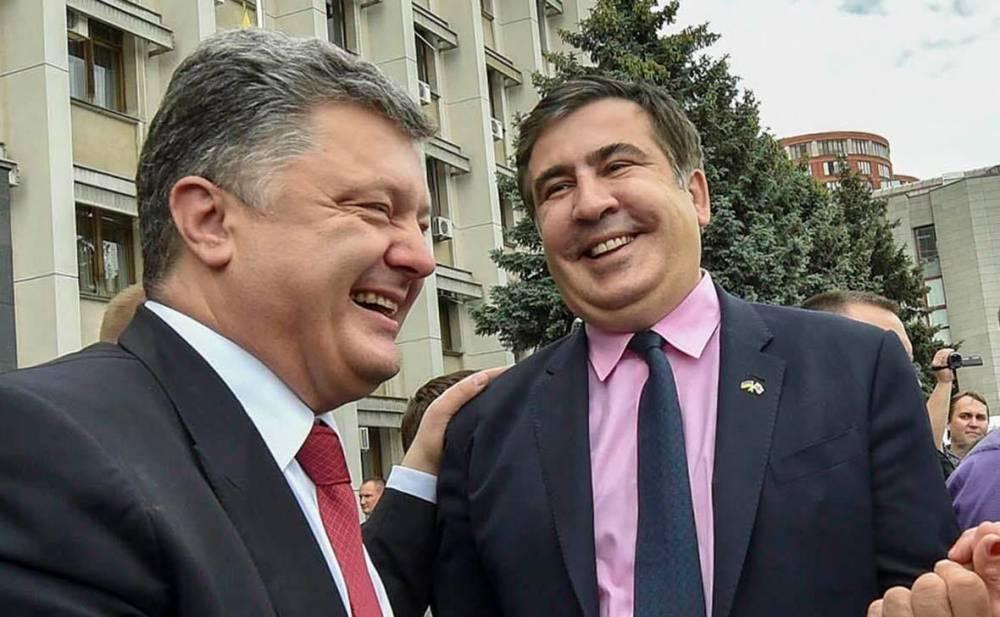 Саакашвили выдал новую порцию компромата на Порошенко