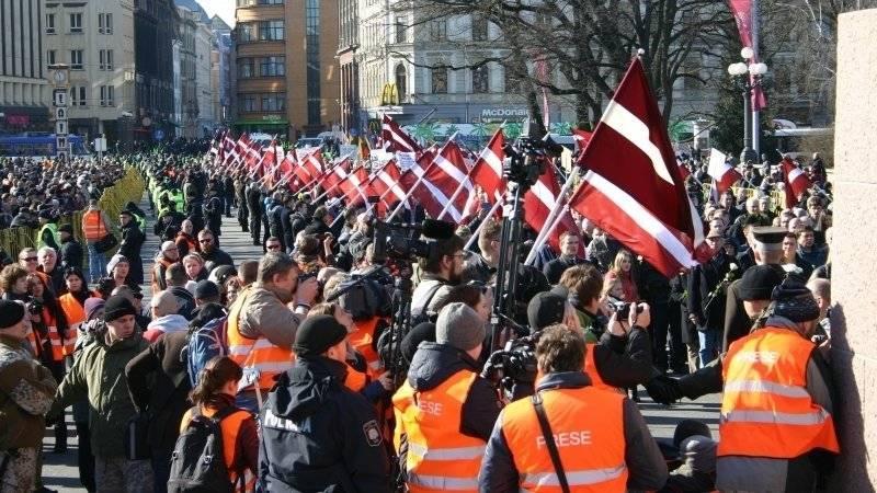 Российские дипломаты назвали позором марш легионеров СС в Риге
