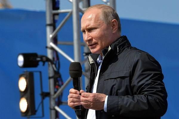Владимир Путин посетит Крым и Севастополь