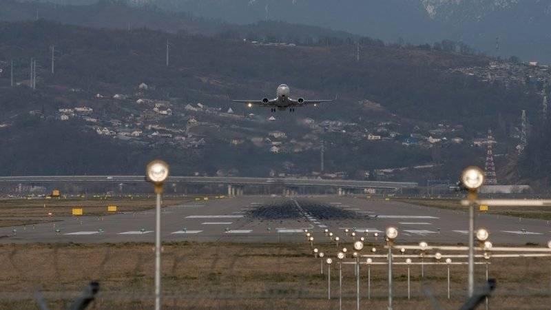 Самолет из Москвы с нарушением механизации крыла успешно приземлился в Сочи